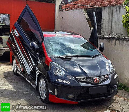 ประตูปีกนก Honda Jazz/Fit GD, GE (Lambo Door)