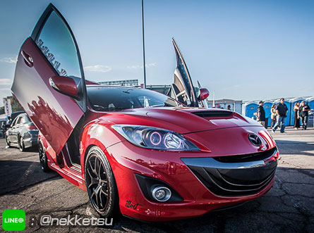 ประตูปีกนก Mazda3 (Lambo Door)