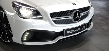 ชุดแต่ง Mercedes Benz SLK R172 WALD Black Bison