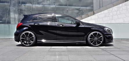 ชุดแต่ง Mercedes Benz A-Class W176 WALD Black Bison