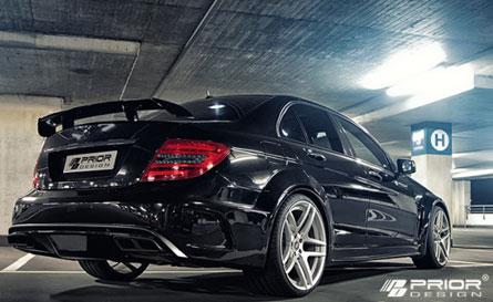 ชุดแต่ง Benz W204 ทรง Prior-Design Black Edition