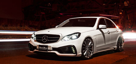 ชุดแต่ง Mercedes Benz E-Class W212 facelift WALD Black Bison