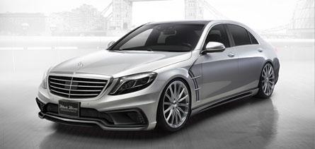 ชุดแต่ง Mercedes Benz S-Class W222 WALD Black Bison