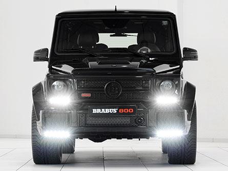 ชุดแต่งรถ Benz W463 G800 ทรง Brabus