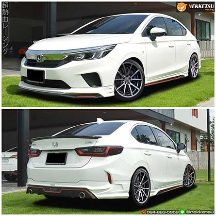 ชุดแต่งสเกิร์ตรอบคันรถฮอนด้าซิตี้ Honda City 2020 ทรง BMS