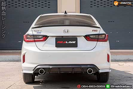 ชุดแต่งสเกิร์ตรอบคันรถฮอนด้าซิตี้ Honda City 2020 ทรง REDLine