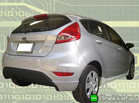ชุดแต่งรถ Ford Fiesta 2010 ทรงศูนย์