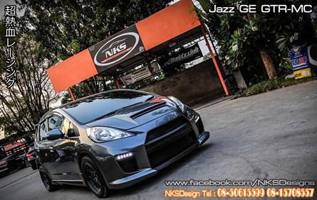 ชุดแต่ง Jazz GE MC ทรง GTR V.1