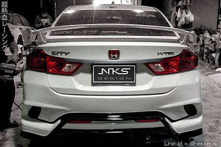 ชุดแต่งรถ Honda City 2014 ทรง Type X
