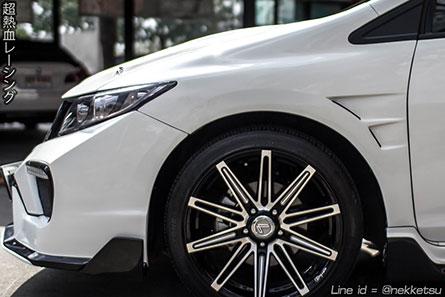 ชุดแต่งรถ Civic FB ทรง Type X