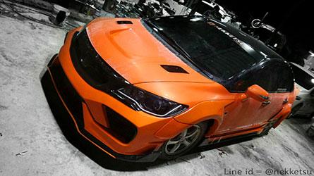 ชุดแต่งรถ Civic ทรง Type X Wide Body