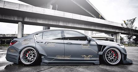 ชุดแต่งรถ Accord G9 ทรง Wide Body