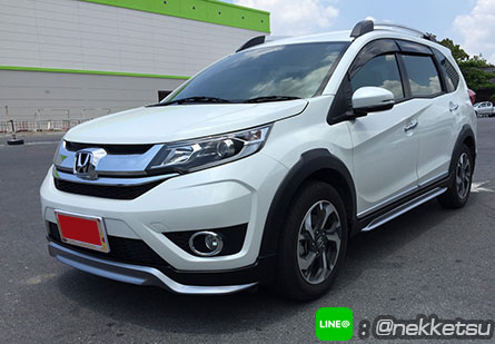 ชุดแต่งรถ Honda BRV 2017 ทรง Modulo