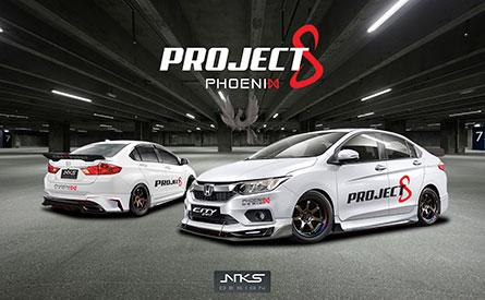 ชุดแต่งรถ Honda City 2017 ทรง Project 8