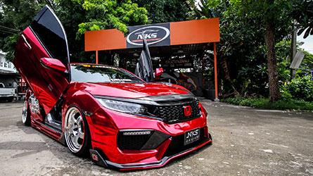 ชุดแต่งรถ Civic FC ทรง Type X