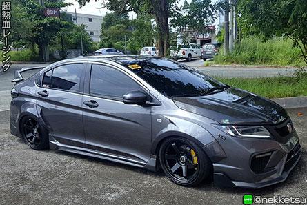 ชุดแต่งรถ Honda City 2014 ทรง Type X วายบอดี้