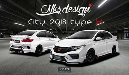 ชุดแต่งรถ Honda City ทรง Type X 2018