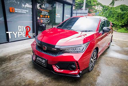 ชุดแต่งสเกิร์ตรอบคันรถซิตี้ Honda City 2020 ทรง Type R
