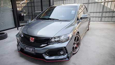 ชุดแต่ง สเกิร์ตรอบคัน Civic FD 06-11 ทรง Type R 2020.
