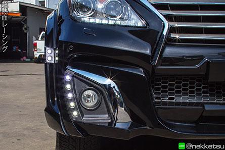 ชุดแต่งรถ Lexus LX570 ทรง WALD