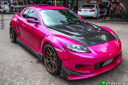 ชุดคิ้วโป่งล้อ Mazda RX8 Wide Body