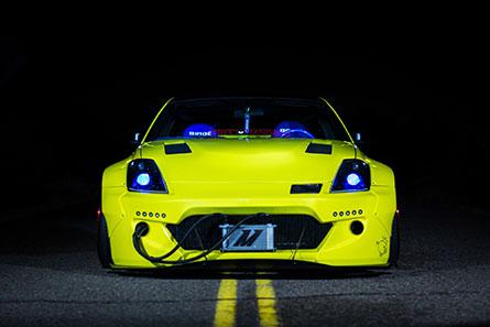 ชุดแต่งรถ NISSAN 350Z ทรง Rocket Bunny