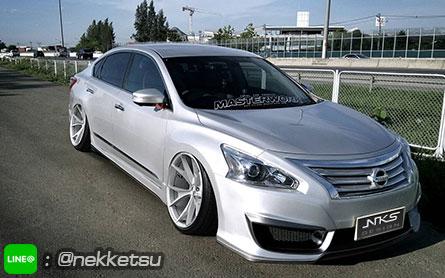 ชุดแต่งรถ Nissan Teana L33 ทรง PNF