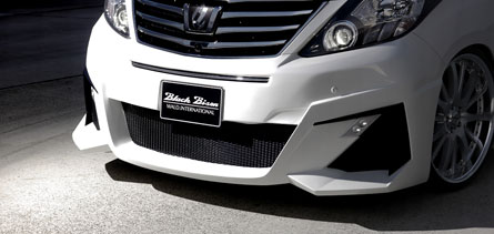 ชุดแต่ง Alphard 2011 WALD Sport Black Bison