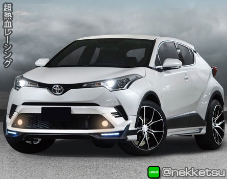 ชุดแต่งรถ Toyota CH-R 2018 ทรง Concept M