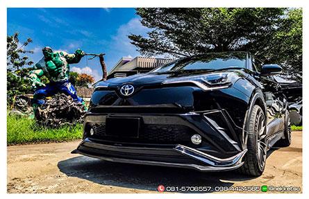 ชุดแต่งรถ สเกิร์ตรอบคัน CHR 2018 ทรง AMT V2