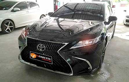 ชุดแต่ง สเกิร์ตรอบคัน Camry 2019 ทรง Lexus LS