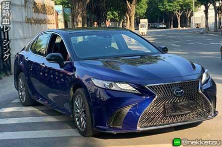 ชุดแต่งรถ Camry 2019 ทรง Lexus ES