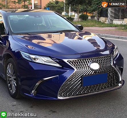 ชุดแต่ง สเกิร์ตรอบคัน Camry 2019 ทรง Lexus LS Sport