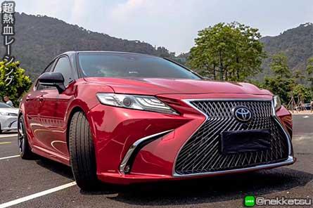 ชุดแต่งรถ Toyota Camry 2019 ทรง Lexus LS ES