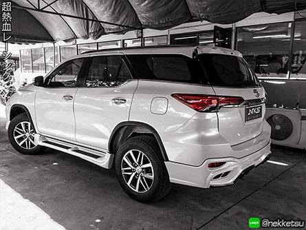 ขุดแต่งรถ Fortuner ทรง Lexus LX 2017