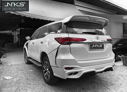 ชุดแต่งรถ Fortuner ทรง Lexus LX Sport 2017