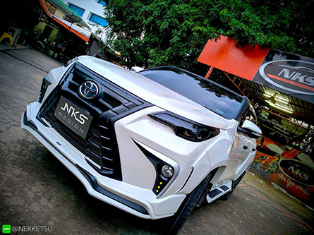 ชุดแต่ง Fortuner ทรง Lexus LX Sport