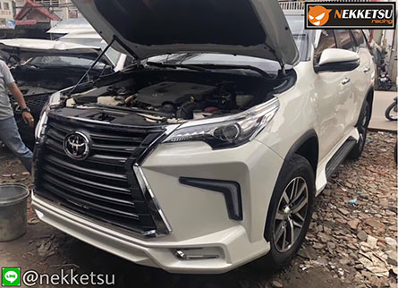 ชุดแต่งรถ Toyota Fortuner 2017-2019 ทรง Lexus