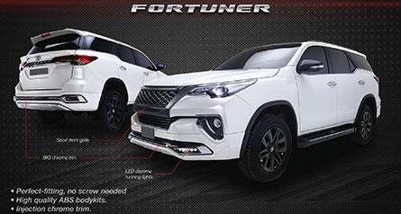 ชุดแต่งรถ Fortuner 2018 ทรง TiThum