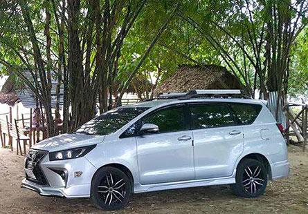 ชุดแต่งรถ Toyota Innova Crystra ทรง LX Sport