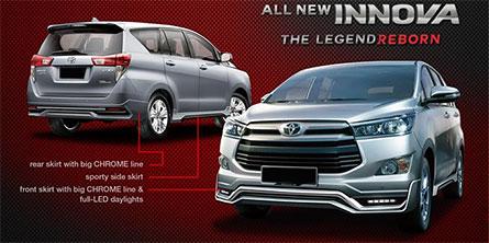 ชุดแต่งรถ Toyota Innova Crysta 2018 ทรง TiThum