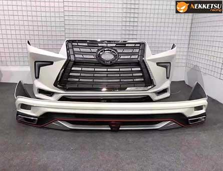 ชุดแต่งรถ สเกิร์ตรอบคัน Innova ทรง Lexus LX Sport V2