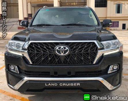 ชุดแต่งรถ Land Cruiser ปี 2016-2018 ทรง MIDDEL EAST