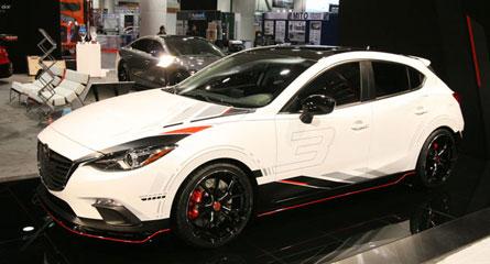 ชุดแต่ง Mazda3 ปี 2014 ทรง Mazdaspeed