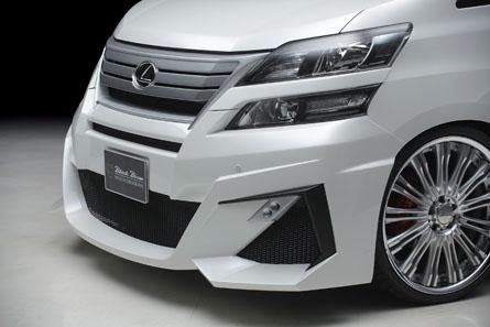 ชุดแต่ง Toyota Vellfire WALD Sports Line