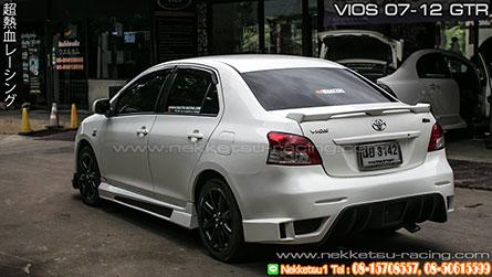 ชุดแต่ง Toyota Vios 07-12 ทรง GTR