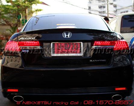 ชุดแต่งรอบคัน Accord G8 2009 - 2010 ทรง VIP