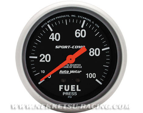 Auto  Racing on Auto Meter 2 5              Sport Comp  Fuel