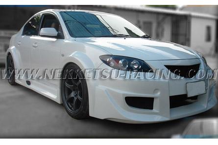 ชุดแต่งรอบคัน Mazda 3 Wide Body