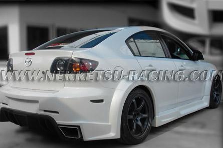 �ش���ͺ�ѹ Mazda 3 Wide Body